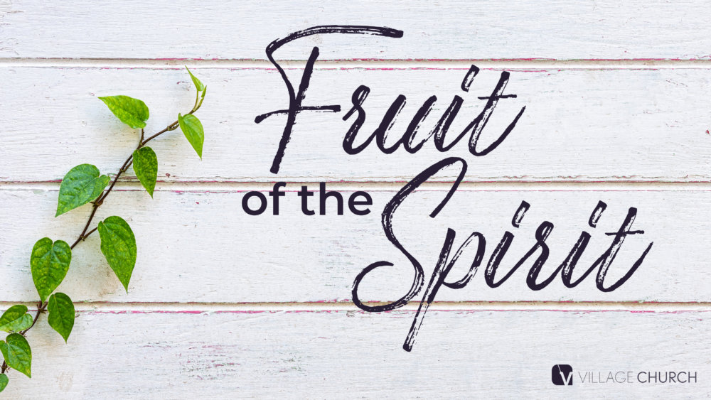 The Fruit of the Spirit: Self-Control Image